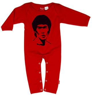 040aae917 Alternative Baby Clothes   Bruce Lee PLAYSUIT