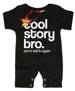 Cool Story Bro Don't Tell It Again SUMMER Romper
