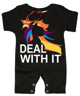 my little pony inspired brony baby clothes